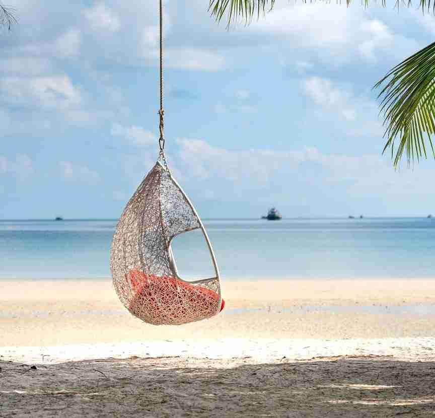 DIY Macrame Hanging Chair